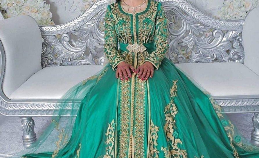 2020 Caftan mariée : Robe marocaine